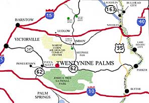 Twentynine Palms California Map.Proactive Properties Llc News And Resources